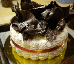 Tiramisu Charlotte Cake