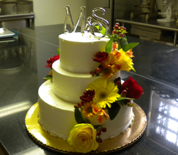 specialty wedding cake flowers